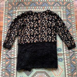 Anthropologie La Fee Verte Leopard Sweater